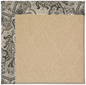 Capel Zoe Cane Wicker 1990 Black Orchid Area Rug