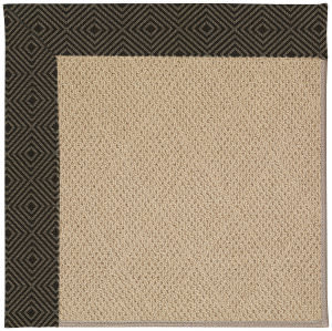 Capel Zoe Cane Wicker 1990 Magma Area Rug