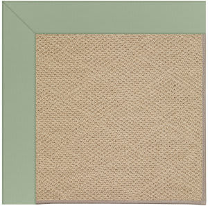 Capel Zoe Cane Wicker 1990 Light Jade Area Rug