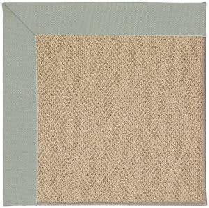 Capel Zoe Cane Wicker 1990 Marine Blue Area Rug