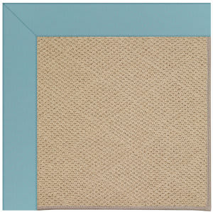 Capel Zoe Cane Wicker 1990 Bright Blue Area Rug