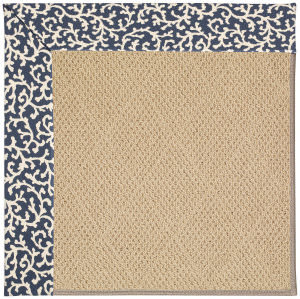 Capel Zoe Cane Wicker 1990 Midnight Area Rug