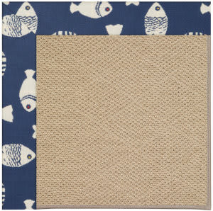 Capel Zoe Cane Wicker 1990 Pitch Area Rug