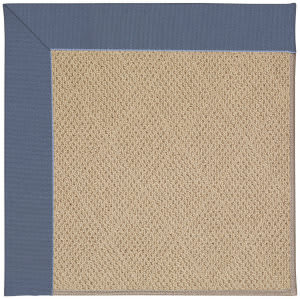 Capel Zoe Cane Wicker 1990 Azure Area Rug
