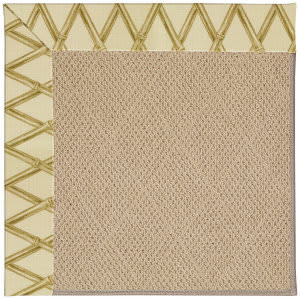 Capel Zoe Cane Wicker 1990 Bamboo Area Rug