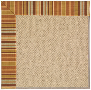 Capel Zoe Cane Wicker 1990 Button Mushroom Area Rug