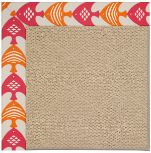 Capel Zoe Cane Wicker 1990 Autumn Area Rug