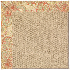 Capel Zoe Cane Wicker 1990 Auburn Area Rug