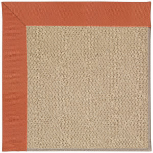 Capel Zoe Cane Wicker 1990 Clay Area Rug