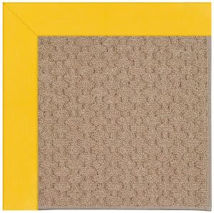 Capel Zoe Grassy Mountain 1991 Summertime Yellow Area Rug
