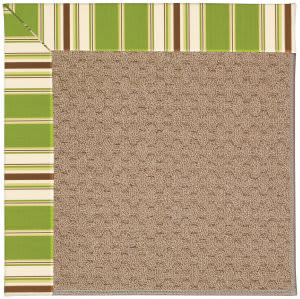 Capel Zoe Grassy Mountain 1991 Green Stripe Area Rug