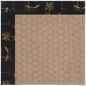 Capel Zoe Grassy Mountain 1991 Jet Black Area Rug