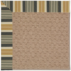 Capel Zoe Grassy Mountain 1991 Black Stripe Area Rug