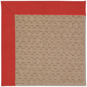 Capel Zoe Grassy Mountain 1991 Red Crimson Area Rug