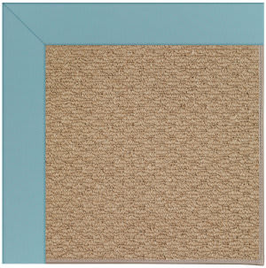 Capel Zoe Raffia 1992 Bright Blue Area Rug