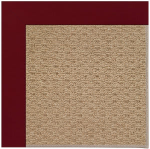 Capel Zoe Raffia 1992 Wine Area Rug
