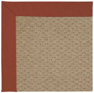 Capel Zoe Raffia 1992 Strawberry Area Rug