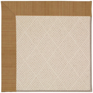 Capel Zoe White Wicker 1993 Golden Area Rug