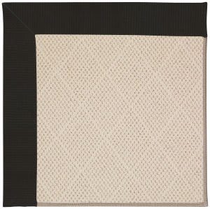Capel Zoe White Wicker 1993 Ebony Area Rug