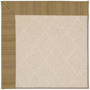 Capel Zoe White Wicker 1993 Black Area Rug