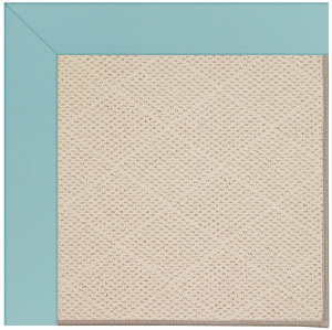 Capel Zoe White Wicker 1993 Seafaring Blue Area Rug