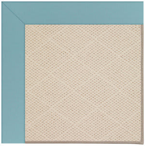 Capel Zoe White Wicker 1993 Bright Blue Area Rug