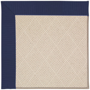 Capel Zoe White Wicker 1993 Navy Area Rug