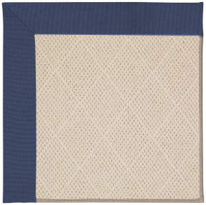 Capel Zoe White Wicker 1993 Blue Area Rug