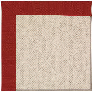Capel Zoe White Wicker 1993 Tomatoes Area Rug