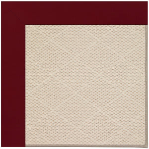 Capel Zoe White Wicker 1993 Wine Area Rug
