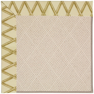 Capel Zoe White Wicker 1993 Bamboo Area Rug