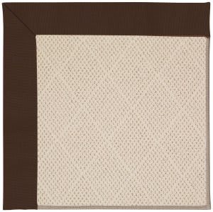 Capel Zoe White Wicker 1993 Brown Area Rug