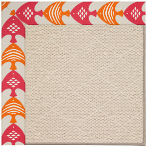 Capel Zoe White Wicker 1993 Autumn Area Rug