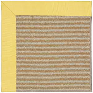 Capel Zoe Sisal 1995 Yellow Area Rug