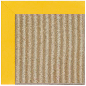 Capel Zoe Sisal 1995 Summertime Yellow Area Rug