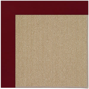 Capel Zoe Sisal 1995 Wine Area Rug
