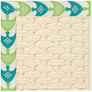 Capel Zoe Sugar Mountain 2008 Angel Fish Green Area Rug