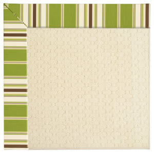 Capel Zoe Sugar Mountain 2008 Green Stripe Area Rug