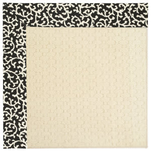 Capel Zoe Sugar Mountain 2008 Black Cascade Area Rug