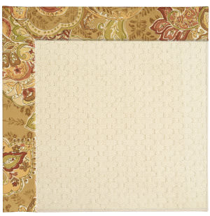 Capel Zoe Sugar Mountain 2008 Bronze Flowers Area Rug