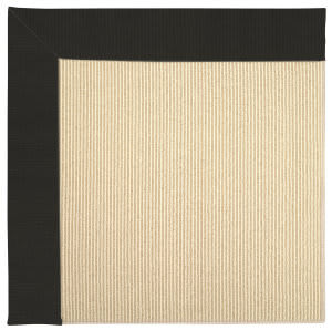 Capel Zoe Beach Sisal 2009 Ebony Area Rug