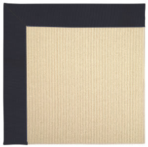 Capel Zoe Beach Sisal 2009 Dark Navy Area Rug