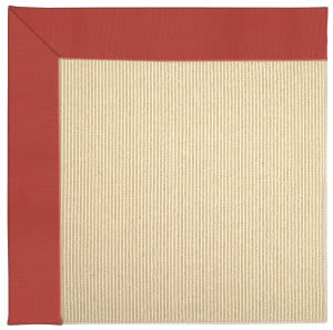 Capel Zoe Beach Sisal 2009 Sunset Red Area Rug