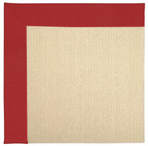 Capel Zoe Beach Sisal 2009 Red Area Rug