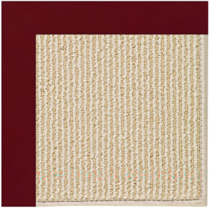 Capel Zoe Beach Sisal 2009 Wine Area Rug