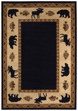 Capel Cottage Grove 2365 Ebony Area Rug