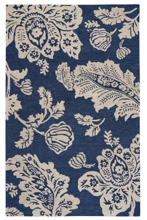 Capel Williamsburg Everett 2563 Midnight Blue Area Rug