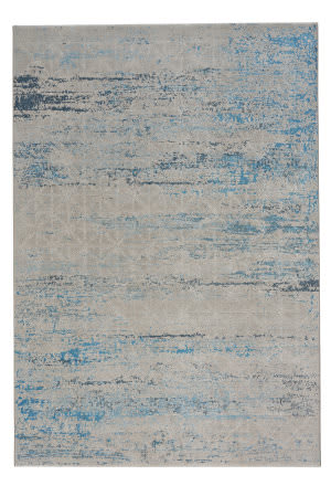 Capel Mason Lattice 2571 Blue Area Rug