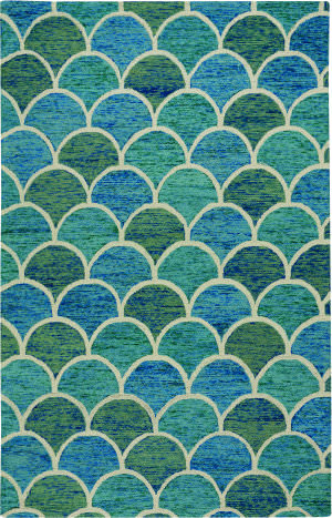 Capel Genevieve Gorder Arches 2590 Blue Area Rug