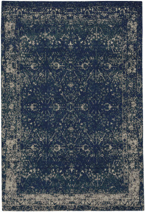 Capel Celestial Star 3243 Bright Blue Area Rug